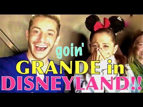 Goin' Grande in DISNEYLAND!!