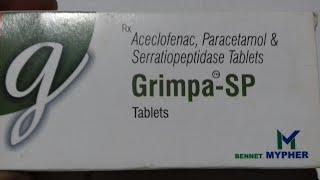 Grimpa - SP Tablet   भयंकर से भयंकर दर्द चुटकी में ठीक करे   Review in hindi