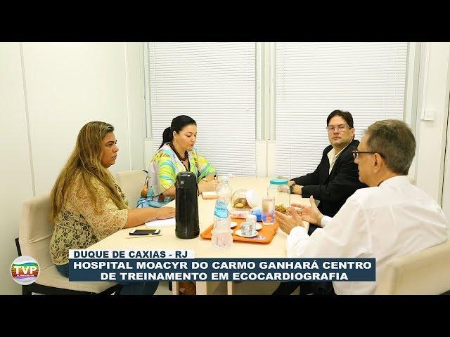 Hospital Moacyr do Carmo ganhará Centro de Treinamento em Ecocardiografia - TvPrefeito.com
