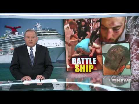 Nine + Seven News. Middle Eastern Family Cruise Chaos.(Carnival Cruise Line)