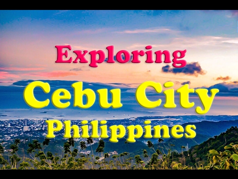 Cebu City: Street Fair, Santo Nino, and The Tops: Cebu City Tour | Philippines Travel Vlog