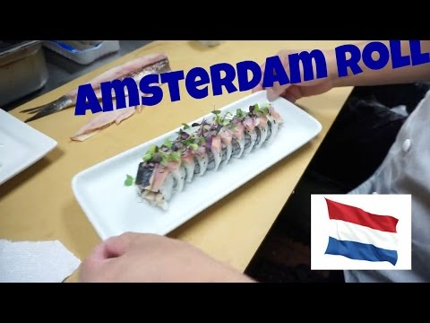 Amsterdam Roll - How To Make Sushi Series