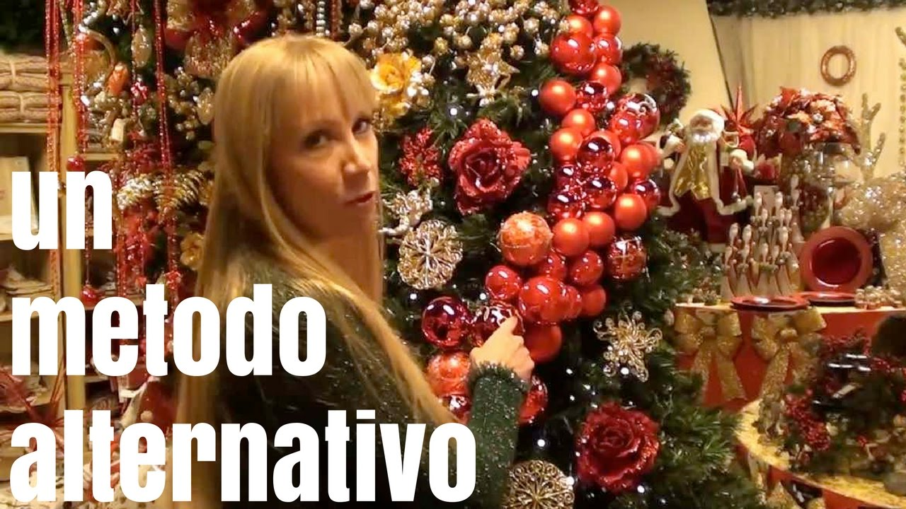 Albero Di Natale Youtube.Un Metodo Alternativo Per Decorare L Albero Di Natale Youtube