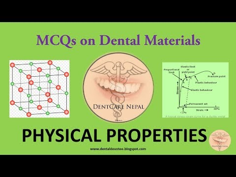 MCQs on Dental Materials - Physical Properties