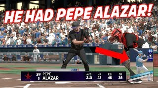 HE HAD PEPE ALAZAR! 99 BRYCE HARPER TOO! - MLB The Show 17 Diamond Dynasty Gameplay
