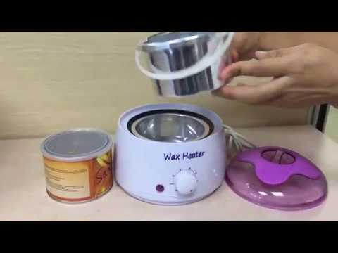 Wax warmer electric hair removal