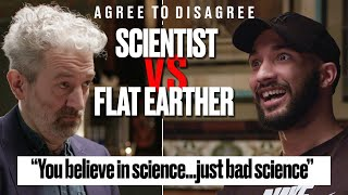 Flat Earther vs Scientist: Does Flat Earth Theory Make Sense? | Agree To Disagree | LADbible