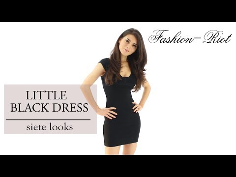 Ideas para combinar un vestido negro - Little Black Dress
