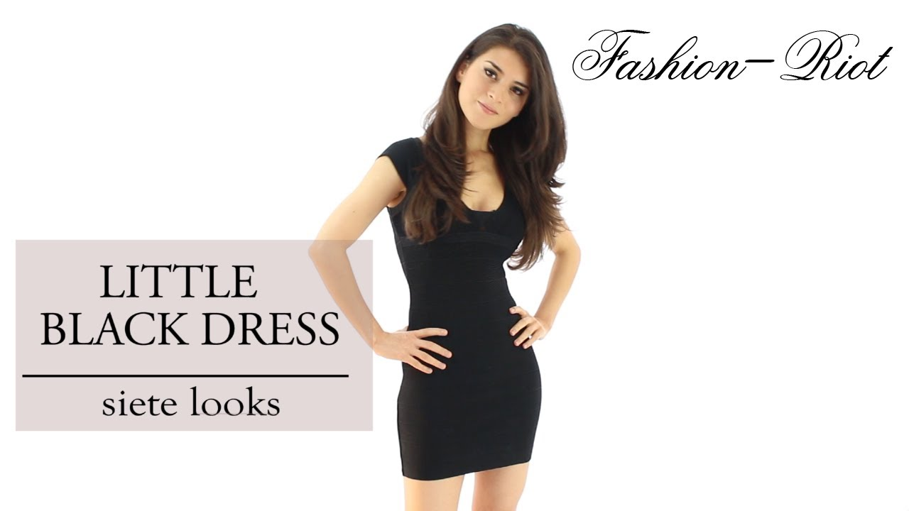 6b1829734 Ideas para combinar un vestido negro - Little Black Dress - YouTube