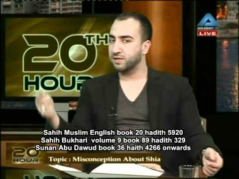 An interview with a Shia Muslim part 2 ...............................syed Ammar Nakshawani 2011