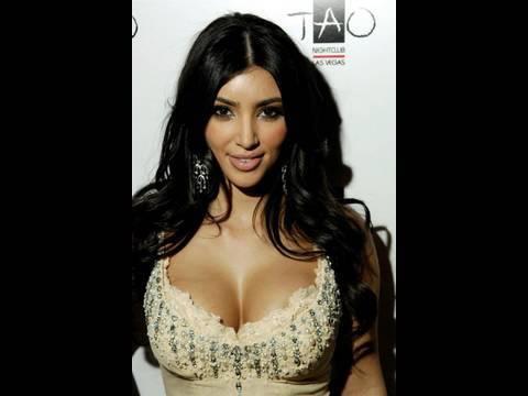 Kim Kardashian in Her Underwear