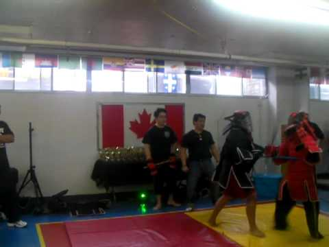 Doce Pares (Montreal) First Stick Fighting Tournament `Miguel Vs. Mark` Round 1