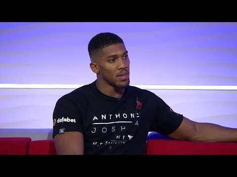 ANTHONY JOSHUA REACTS TO TYSON FURY GETTING ROBBED AGAINST DEONTAY WILDER