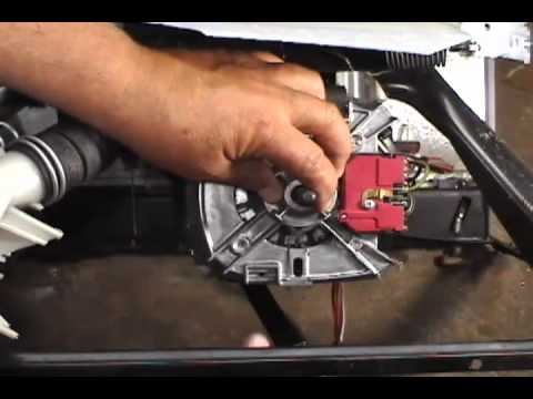 How to tell if the motor coupler is broken doovi for Washing machine motor coupler replacement
