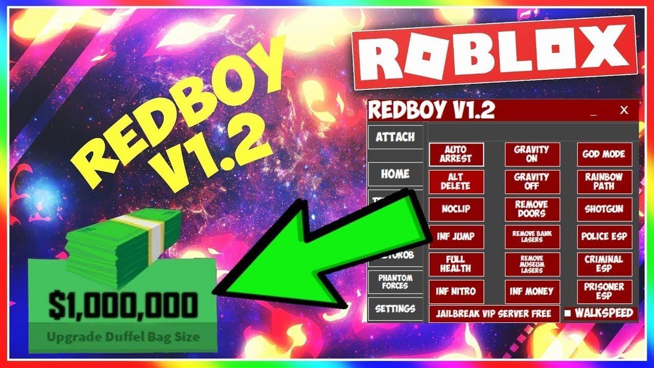 New Roblox Exploit Redboy V1 3 With Gravityjump Walkspeed