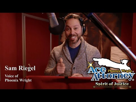 The Voices of Ace Attorney: Sam Riegel as Phoenix Wright