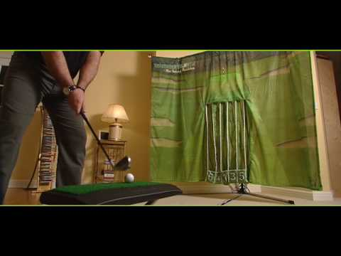 Targetline: The Indoor Golf Swing Trainer - YouTube