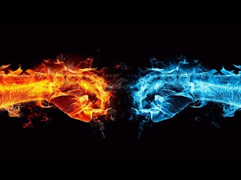 fire-&-water-logo-intro-template-  -3d-intro-no-text-  -intro-without-text