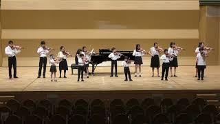 合奏 2つのヴァイオリンのための協奏曲 第1楽章(バッハ)【20190923 発表会】