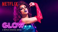 GLOW | Queens of Netflix: Erin Brockobic | Netflix - Продолжительность: 63 секунды