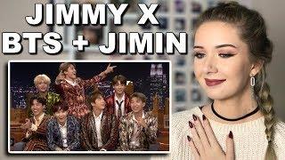 BTS' Interview on Jimmy Fallon Reaction (JIMMYXJIMIN??) // ItsGeorginaOkay