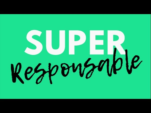 Super Responsable - Campagne Ulule