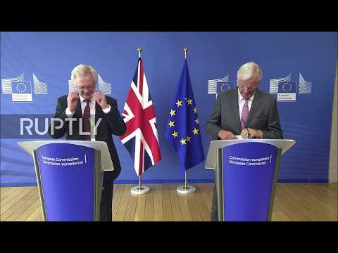 Belgium: EU negotiator Barnier