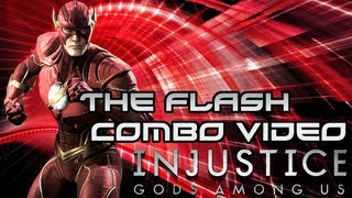 Injustice: Gods Among Us - The Flash Combo Video