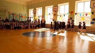 Муниципальный смотр строя и песни среди дошкольных учреждений Соликамска 2015