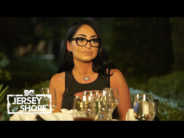 Pauly Asks Deena to go to Dinner with Angelina | Jersey Shore\: Family Vacation