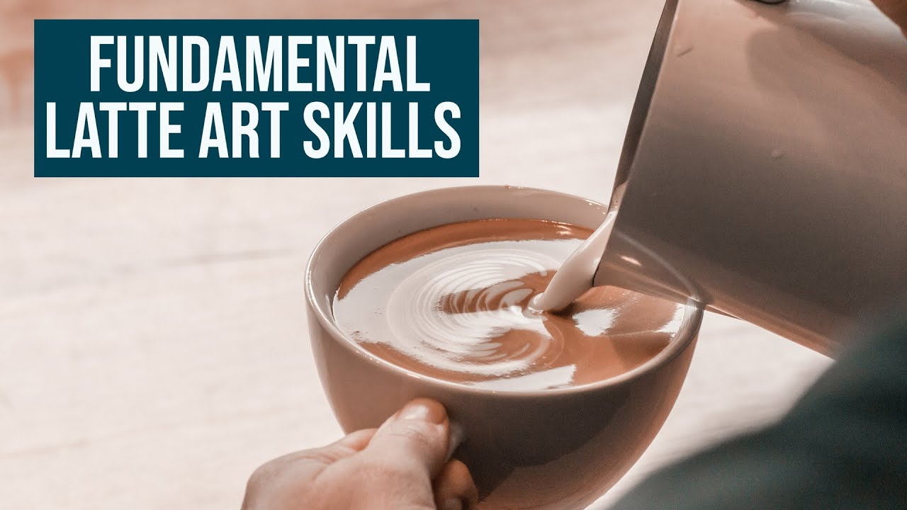 Fundamental Latte Art Skills - MASTERCLASS Milk Series Part 3