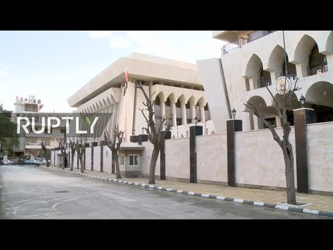 LIVE: Live from Damascus as UAE embassy reopens after seven years