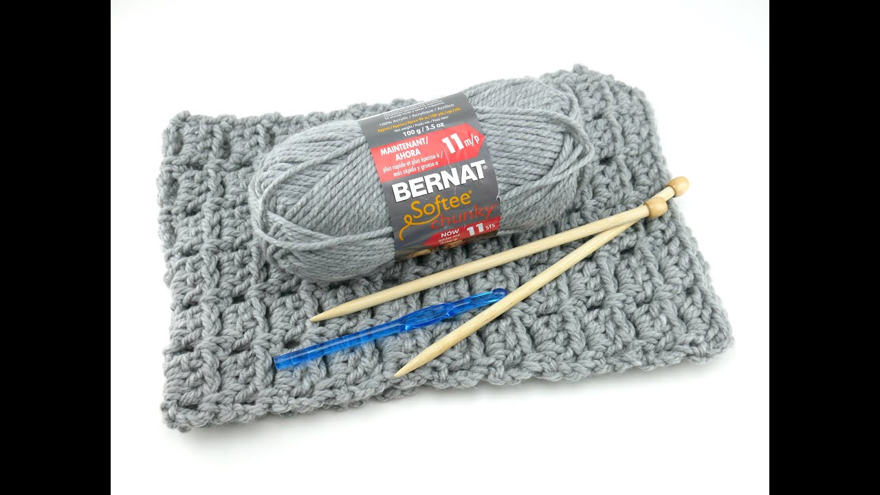 Yarn 101: Bernat Softee Chunky, Episode 274 - YouTube