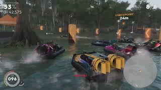 The Crew 2 Gator Rush - Full Hovercraft Discipline Playthrough (All Hovercraft Events)