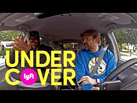 Undercover Lyft with Jason Sudeikis, Olivia Wilde, and Will Forte