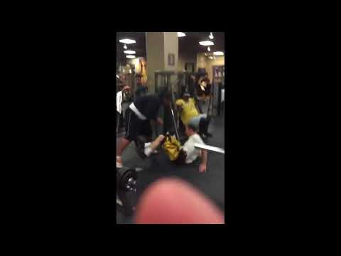 Charlie Zelenoff gets body slammed repeatedly at Gold's Gym