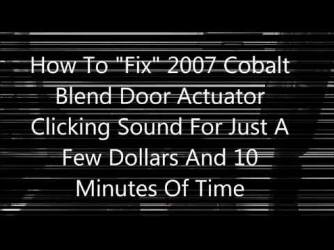 How To Fix GM Blender Door Clicking Noise (Fast & Cheap)