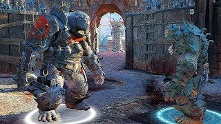 SHADOW OF WAR - HIGH LEVEL ARENA BOSS VS BOSS BATTLE POISONOUS CHAMPION DUELS