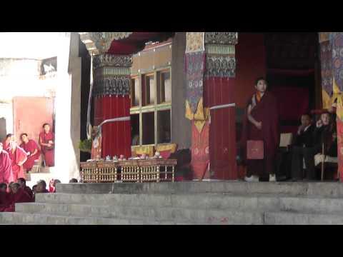 China/Tibet 15. Shigatse. Tashilhunpo Monastery and Ceremony.