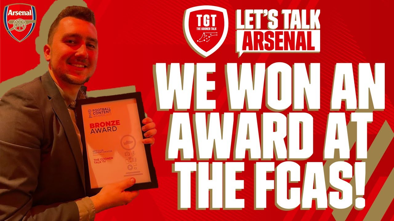 Download WE WON AN AWARD AT THE FCAS!   THANK YOU FOR YOUR SUPPORT!   #LetsTalkArsenal
