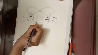 kiki s delivery service jiji time lapse drawing