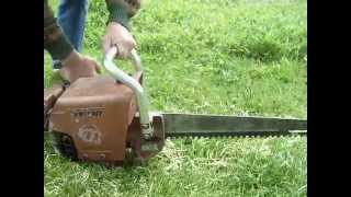 old wright chainsaw