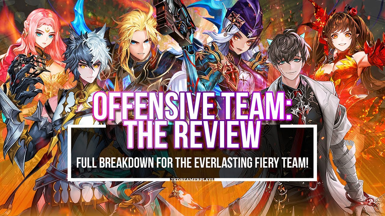 OFFENSIVE TEAM ~The Two MAIN Variants in the Meta!~ | Seven Knights