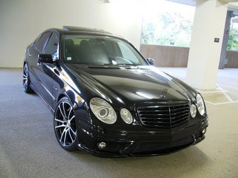 Worksheet. 2007 MERCEDES  BENZ ECLASS E63 AMG  for sale 34999 NWA4