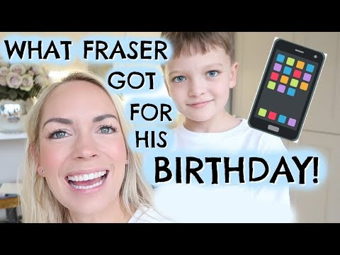 FRASER'S 8TH BIRTHDAY & WHAT PRESENTS HE GOT  |  VLOGMAS AD