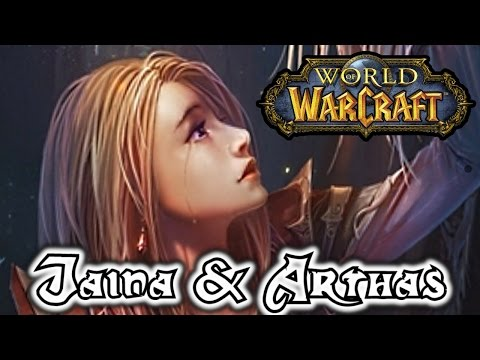 WOW Arthas and Jaina's End - Halls of Reflection