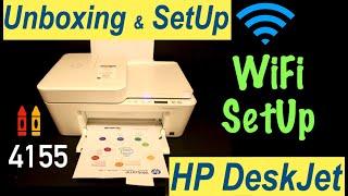 HP Deskjet 4155 Printer, Unbox…