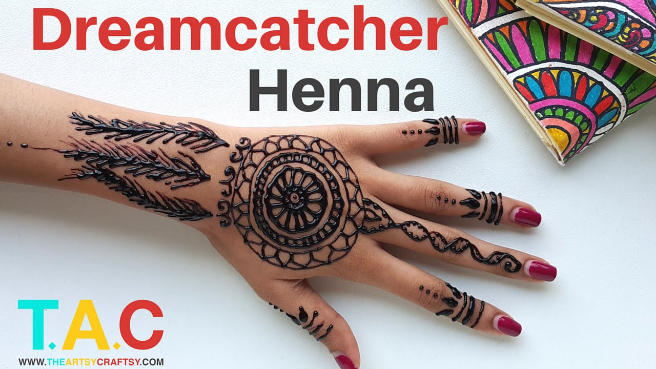 Black Mehndi Designs