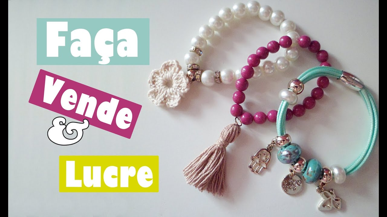 Amado DIY- Pulseira , Venda e Lucre - YouTube CL68