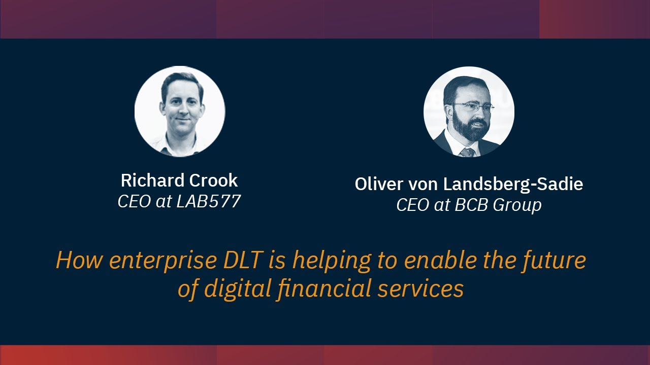 Coinscrum_pro :: How enterprise DLT is helping to enable the future of digital financial services